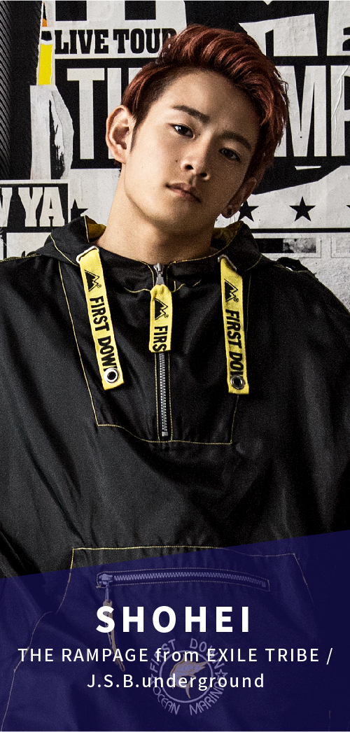 THE RAMPAGE from EXILE TRIBE / J.S.B.underground 浦川翔平